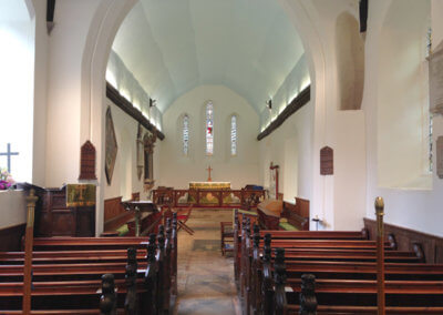 Darsham Church Internal View