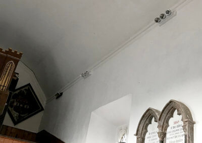 Herringfleet Church High Level Lighting