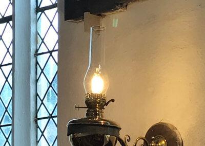 Herringfleet Church Lamp